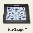 seagauge.com digital instrumentation, remote switching, engine data logging