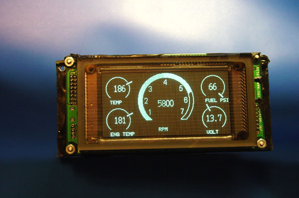 G Vfd Module on High Pressure Fuel Gauge